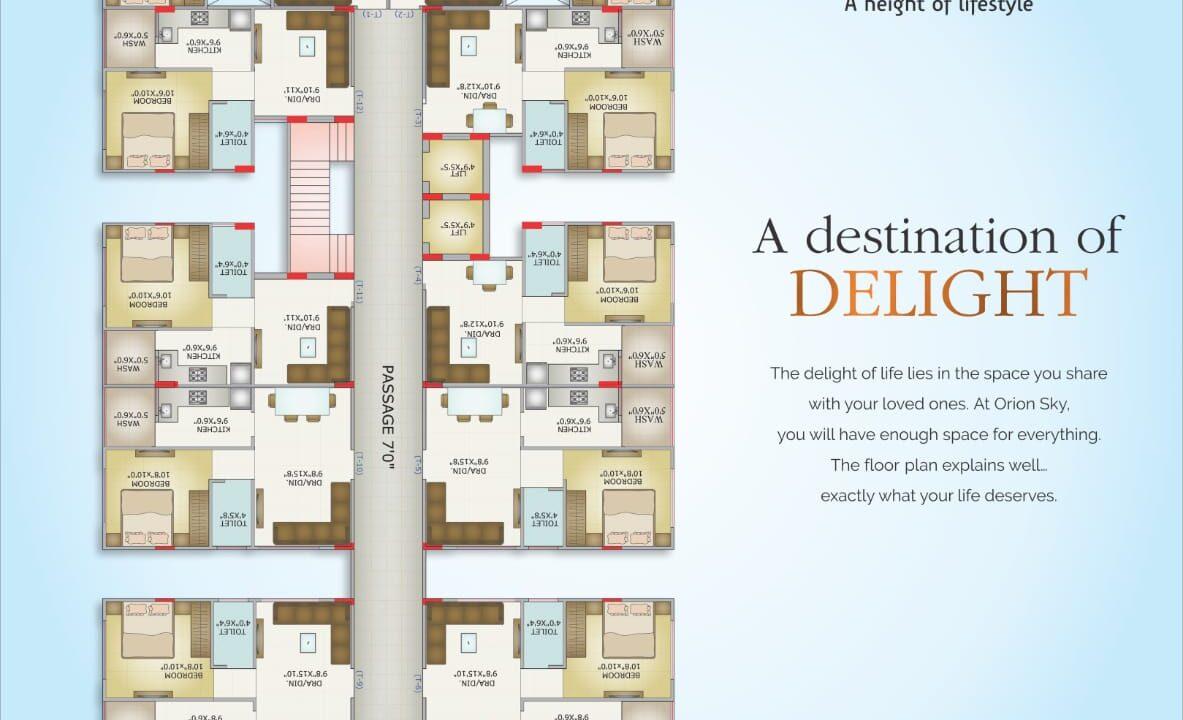 flat in Divya Vihar